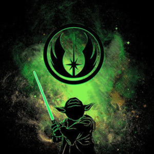 Once Upon a Tee: Jedi Art
