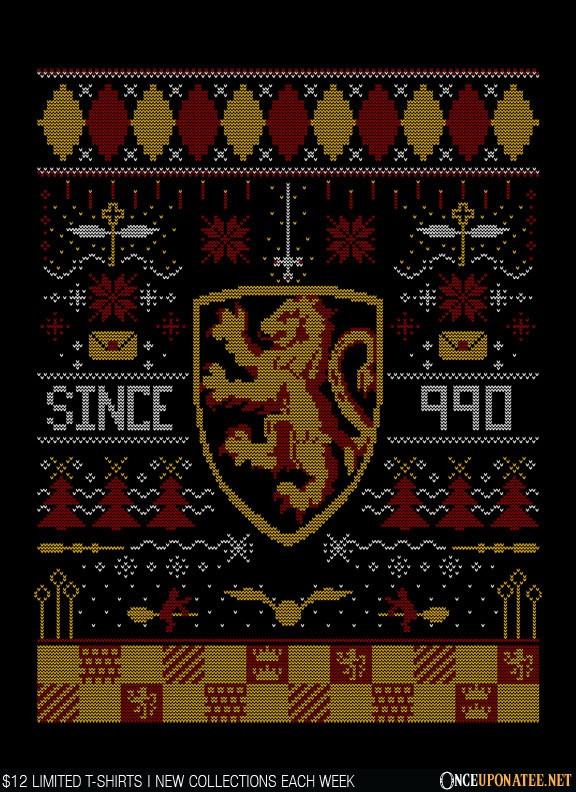 Once Upon a Tee: Ugly Lion Sweater