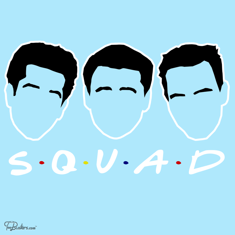 TeeBusters: Friends Squad