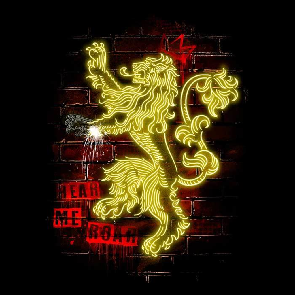 Once Upon a Tee: Neon Lion