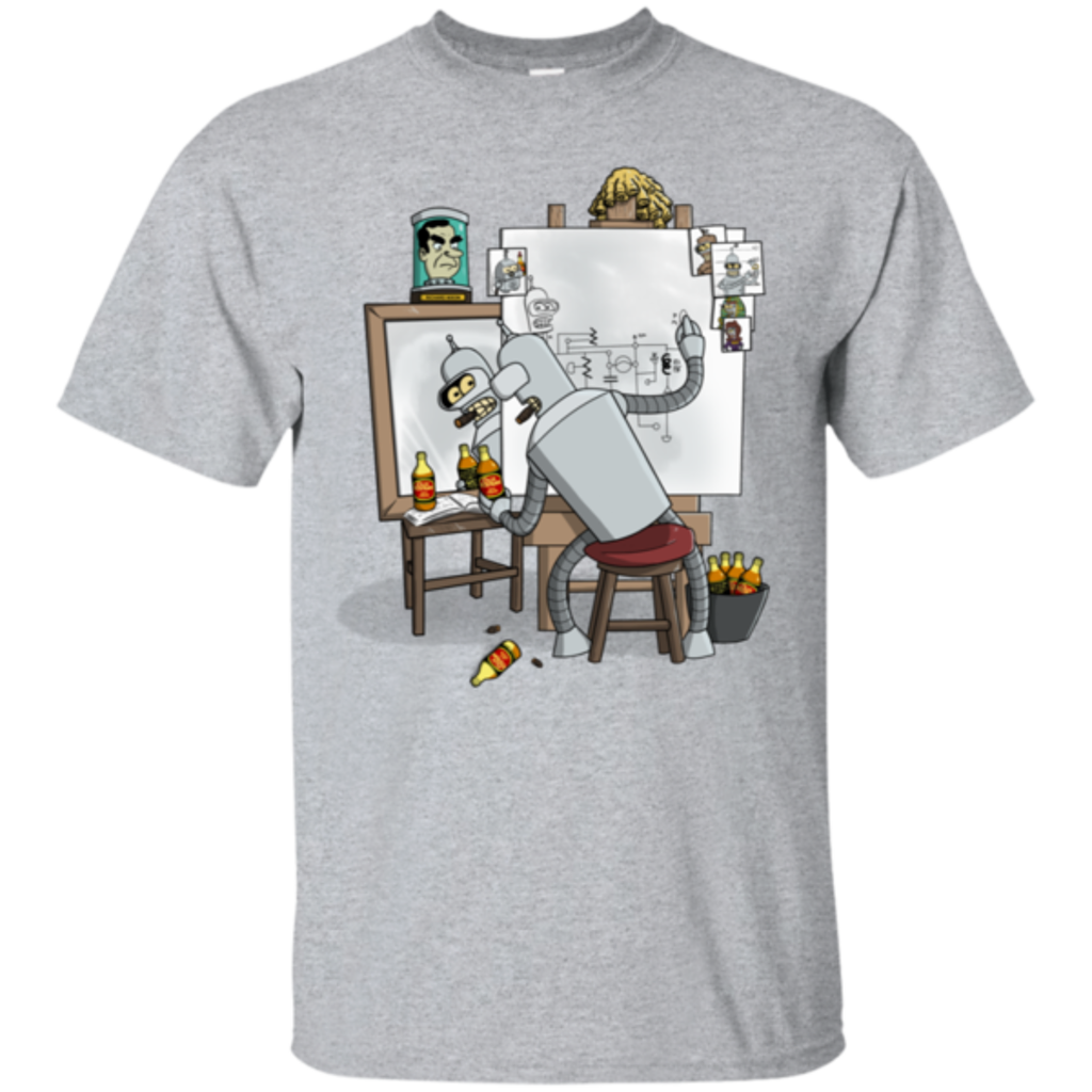 Pop-Up Tee: Retrato de un Robot
