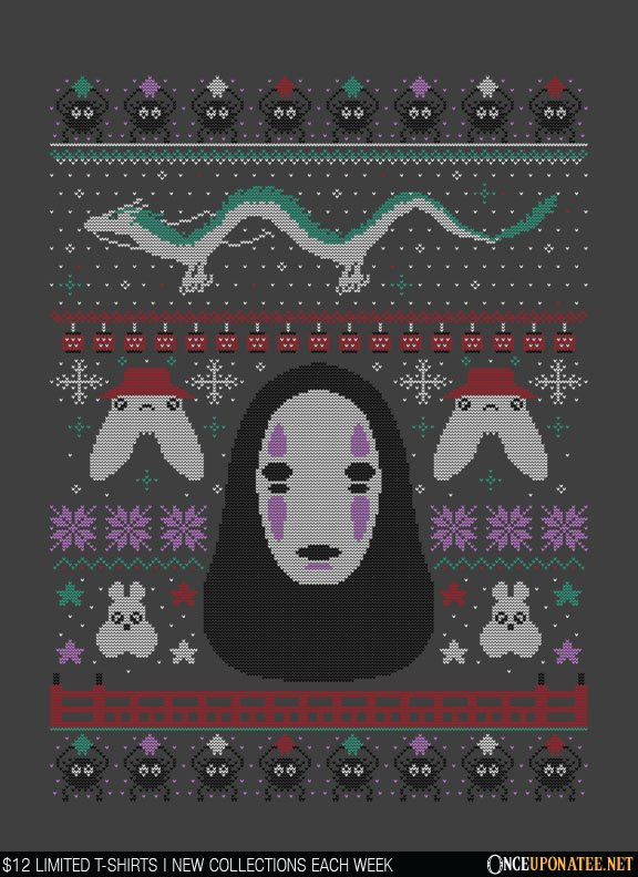 Once Upon a Tee: Spirited Sweater