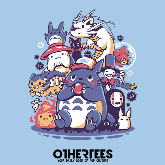 OtherTees: Creatures Spirits and friends