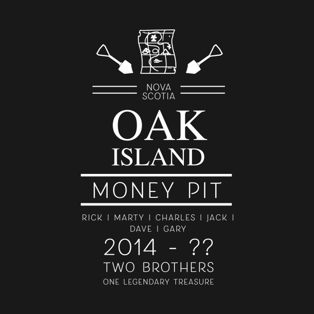 TeePublic: The Curse of Oak Island