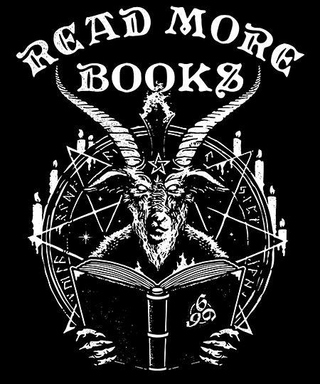 Qwertee: Read More Books