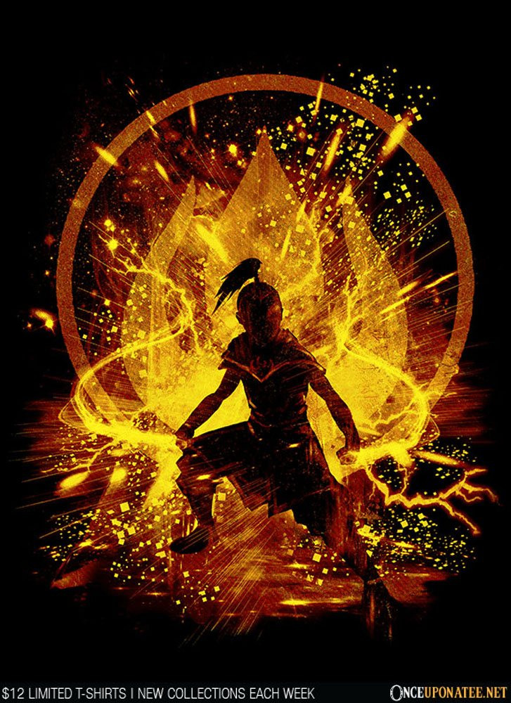 Once Upon a Tee: Fire Storm