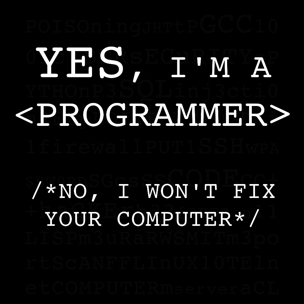 "TeeTee: System.out.println (""I'M a Programmer!"")"