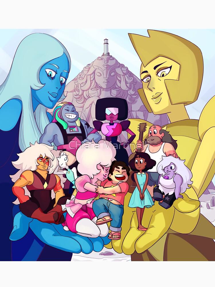 RedBubble: Steven Universe Family