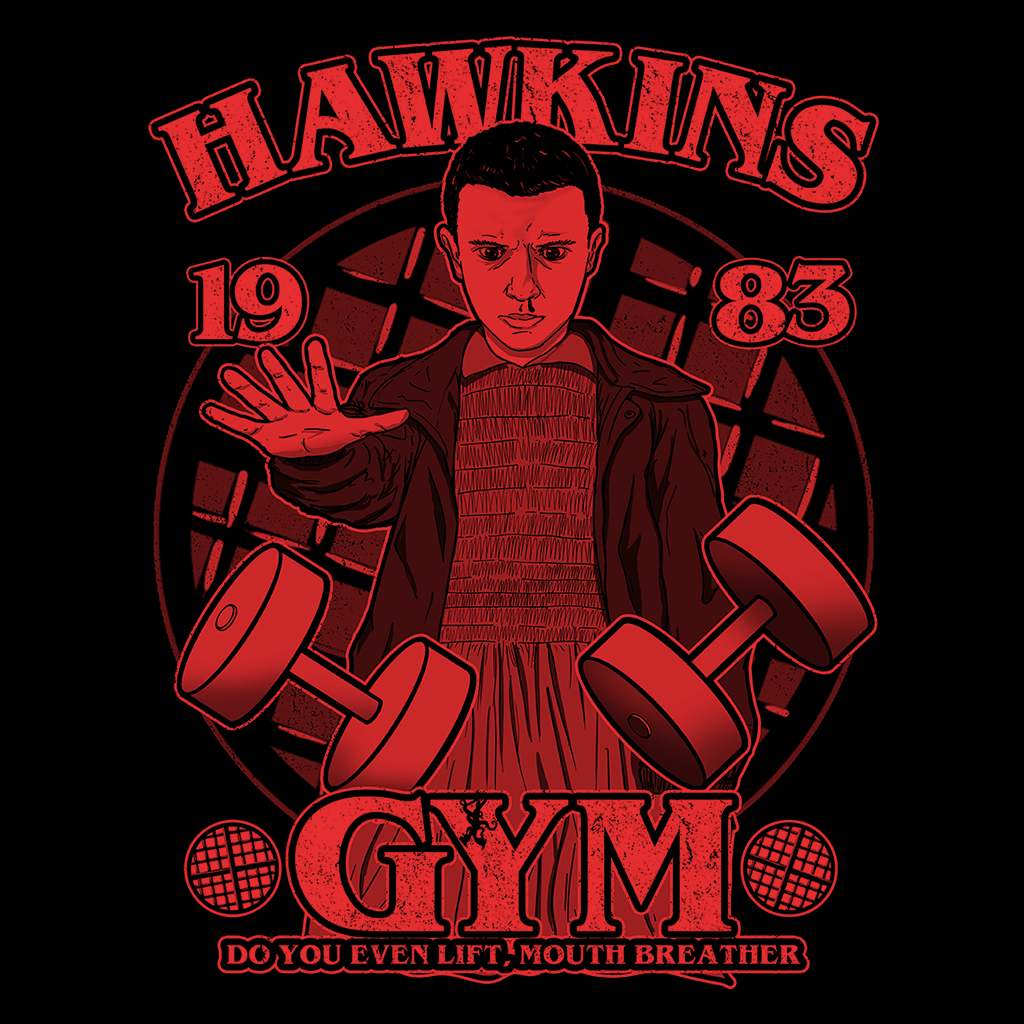 Pop-Up Tee: Hawkins Gym