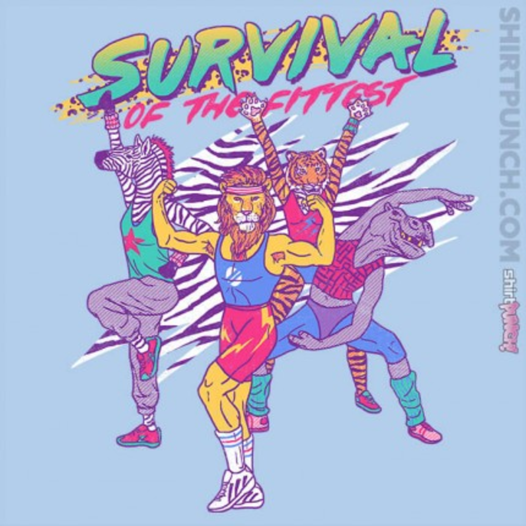 ShirtPunch: Survival of the fittest