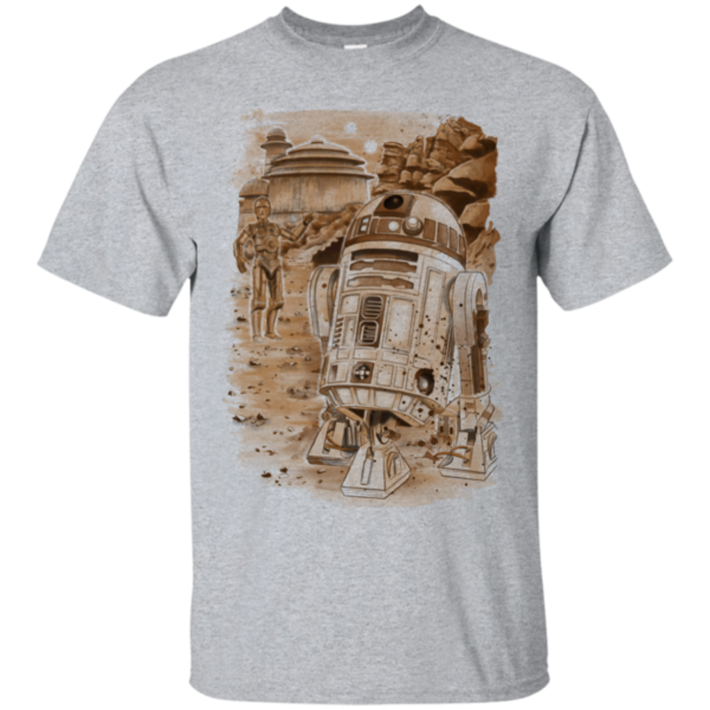 Pop-Up Tee: Mission to jabba palace