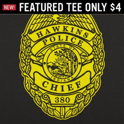 6 Dollar Shirts: Hawkins Badge