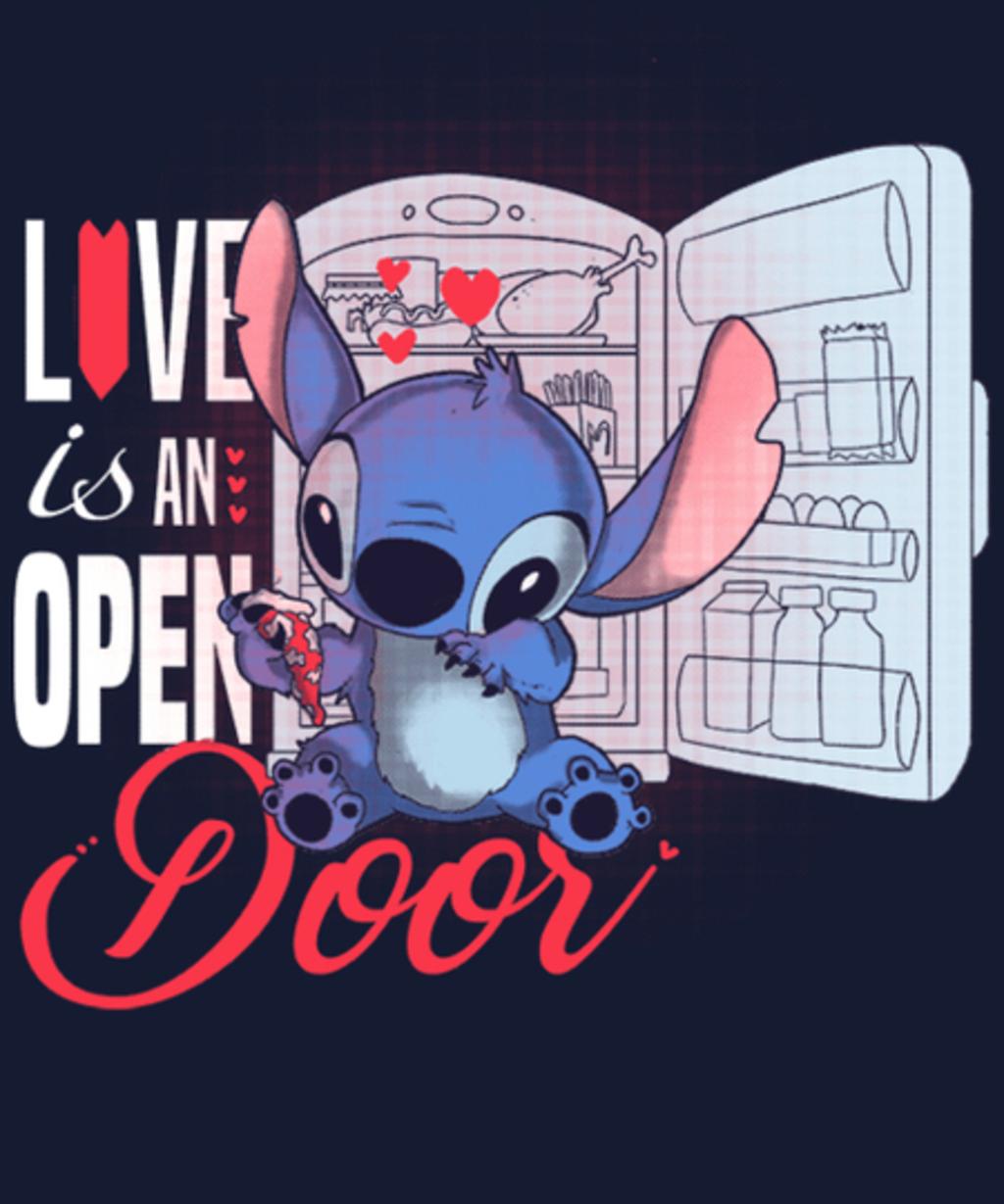 Qwertee: Love is an open door