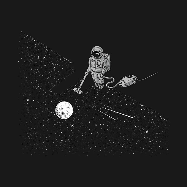 TeePublic: Space Cleaner