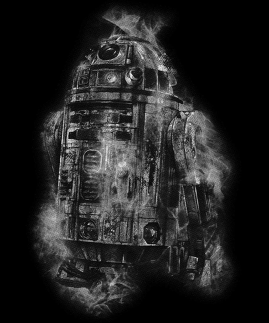 Qwertee: Smoky droid