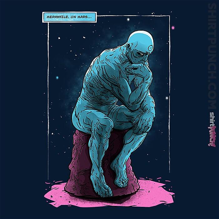 ShirtPunch: Blue Thinker