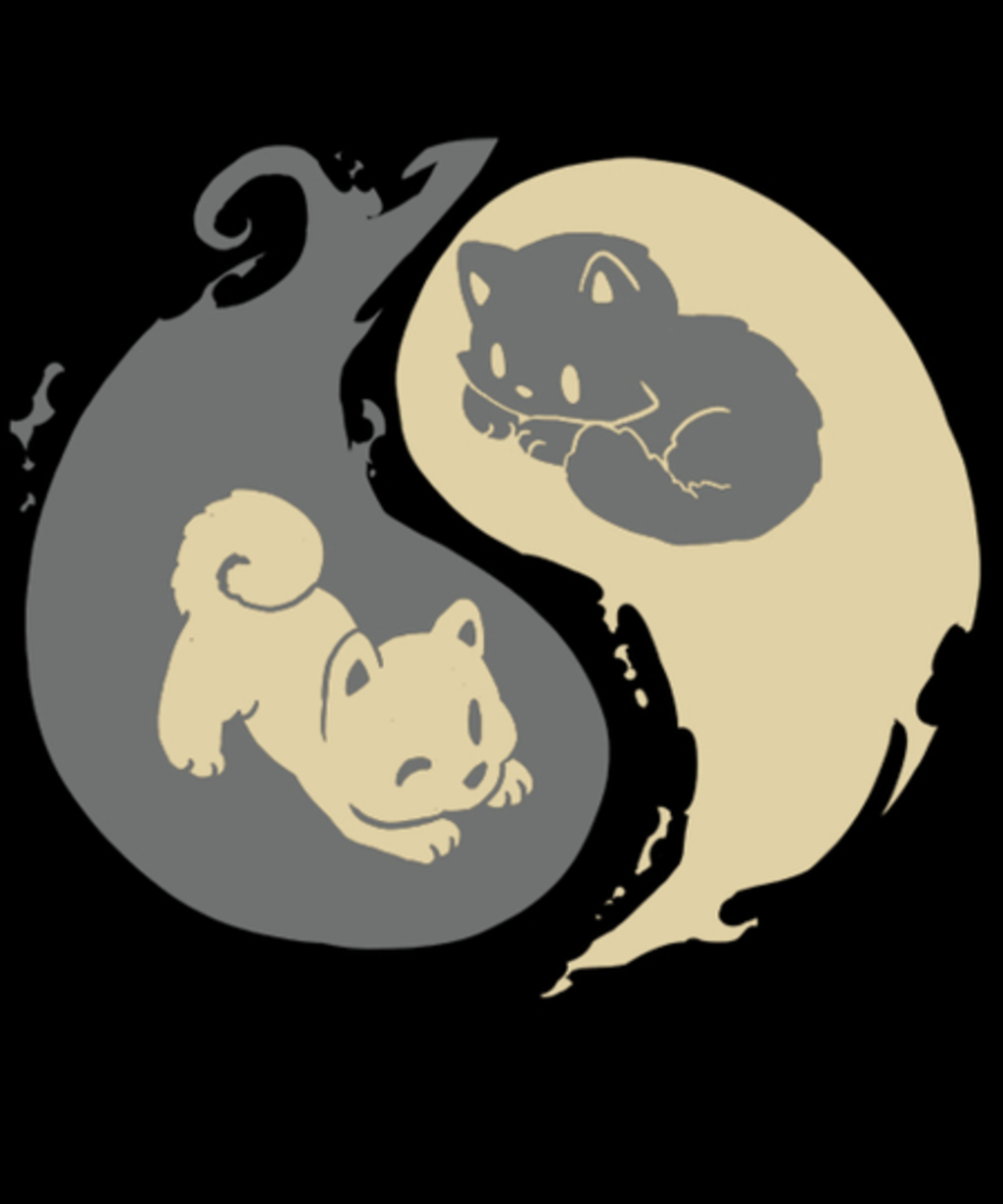 Qwertee: Kit and Pup
