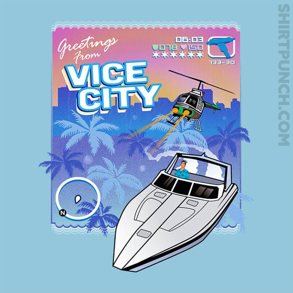 ShirtPunch: Greetings From Vice City