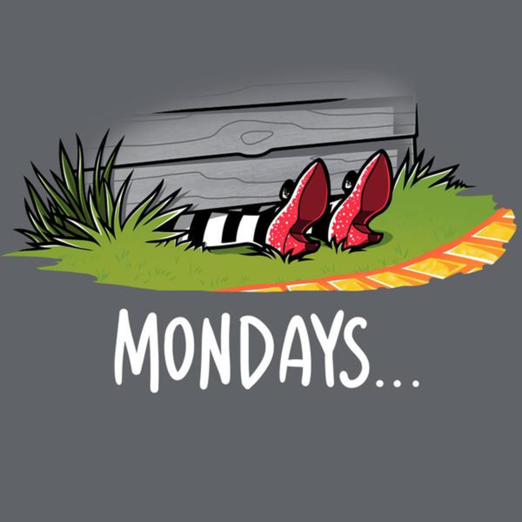 TeeTurtle: Mondays are Wicked