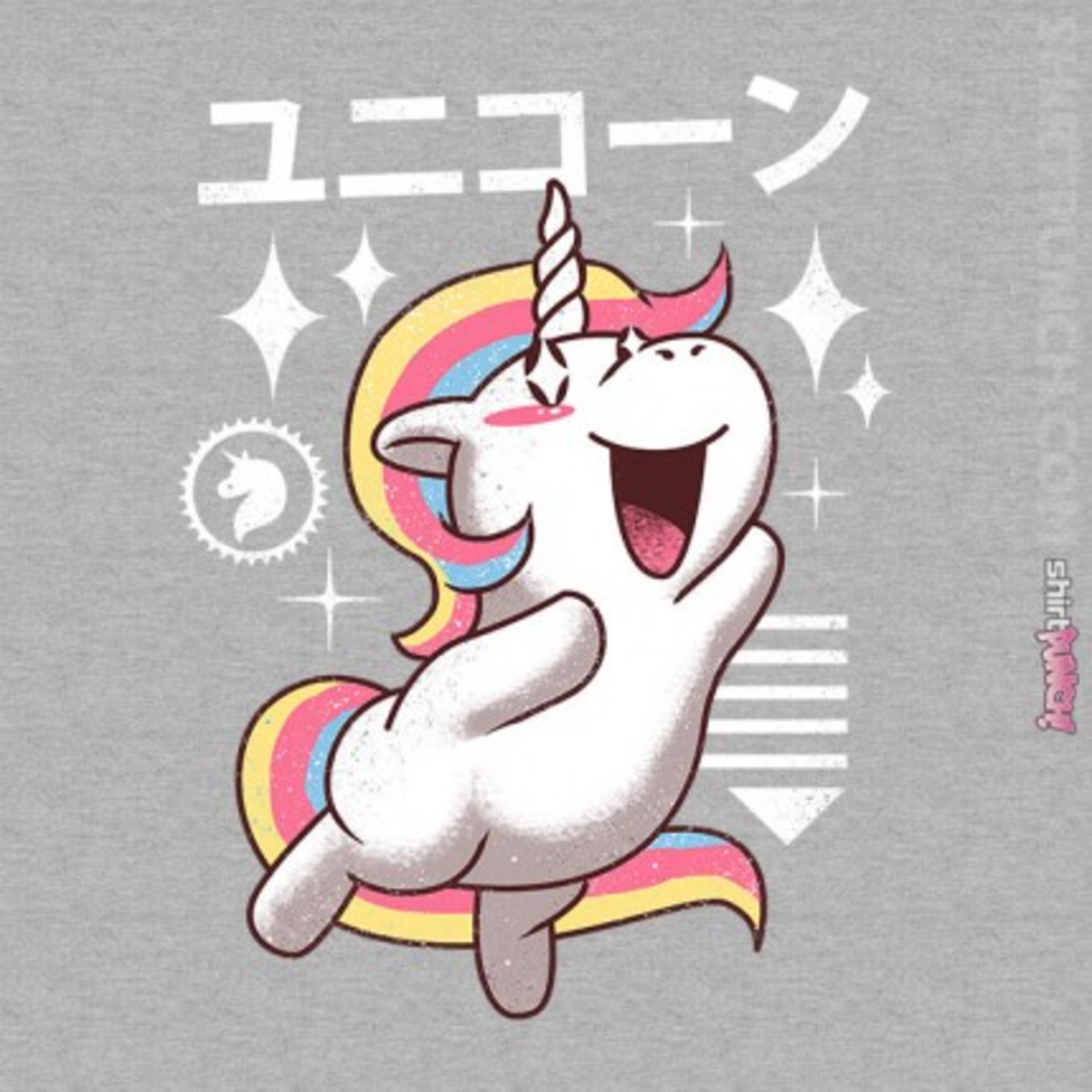 ShirtPunch: Kawaii Unicorn