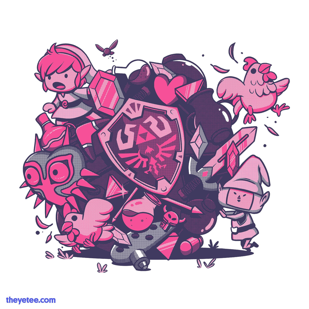 The Yetee: Let's Roll Hero