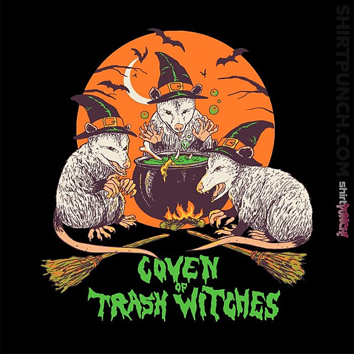 ShirtPunch: Coven Of Trash Witches