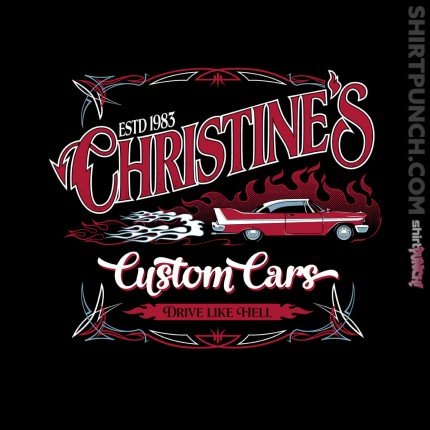 ShirtPunch: Christine's Custom Cars