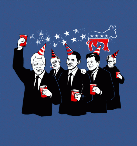 BustedTees: Democratic Party