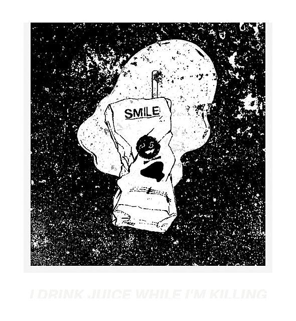 """RedBubble: """"S M I L E Juice"""" Black/White"""