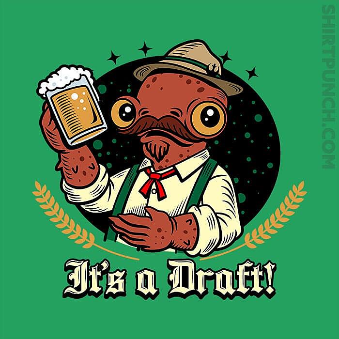 ShirtPunch: It's A Draft