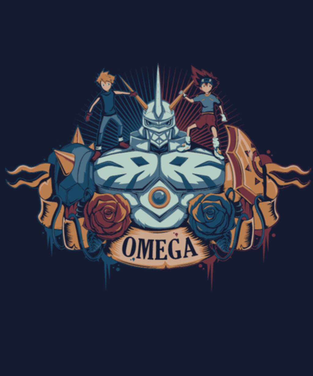 Qwertee: Digital Omega
