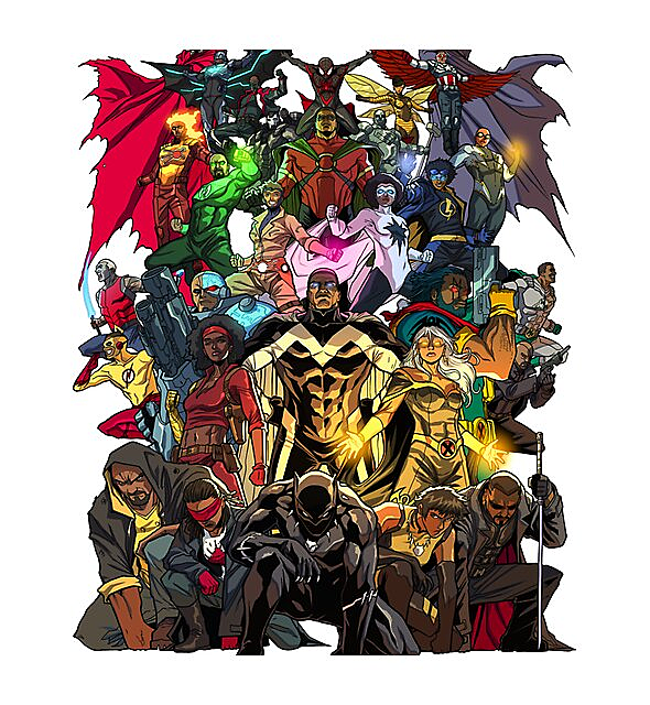 RedBubble: Heroes of Color