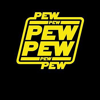 BustedTees: Pew Pew Pew Hoodie