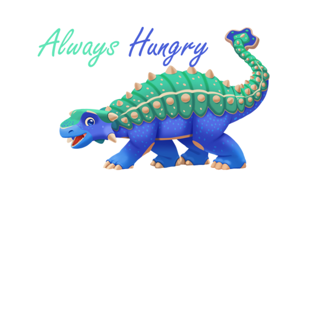 NeatoShop: Always Hungry Ankylosaurus Matching Family Shirt