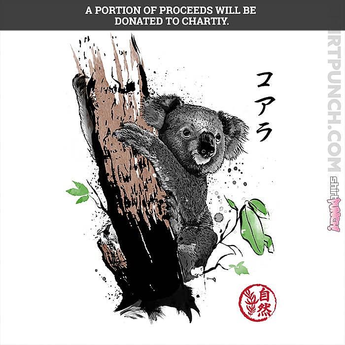 ShirtPunch: Wild Koala