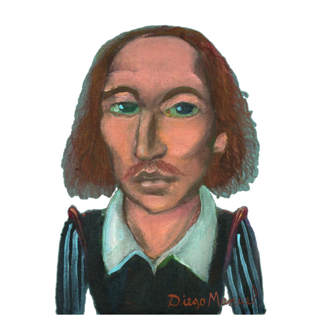 NeatoShop: William Shakespeare portrait c