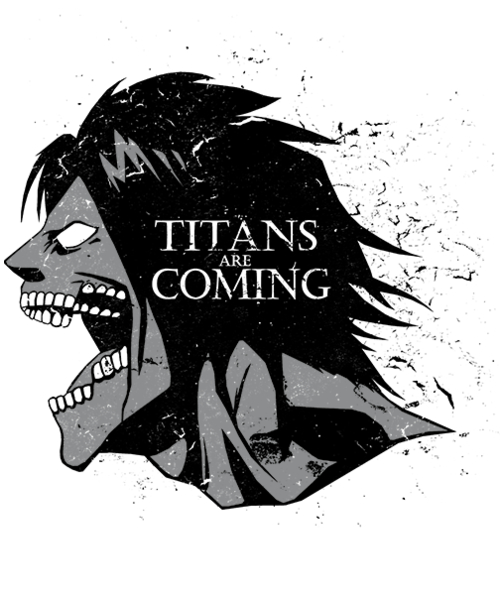 Qwertee: Titans are coming