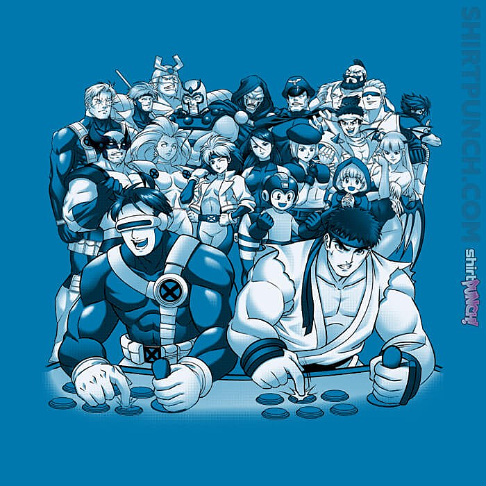 ShirtPunch: Marvel Vs Capcom