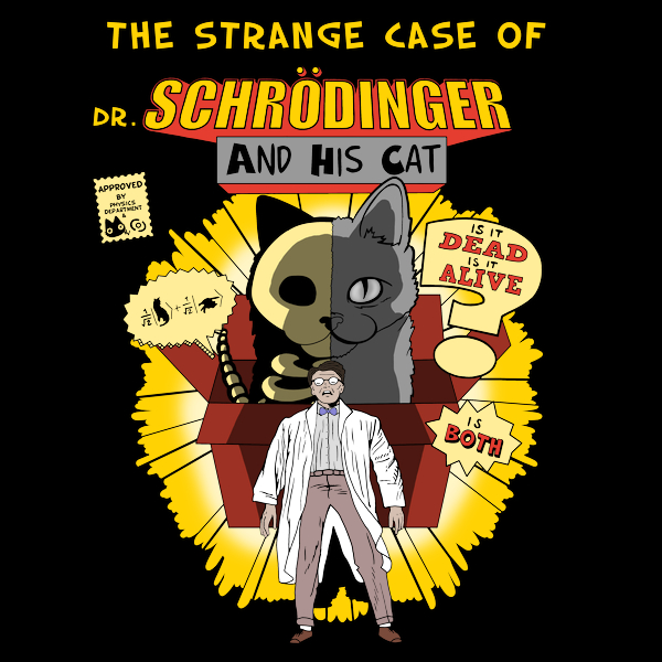 NeatoShop: The strange case of dr. Schrodinger and his cat