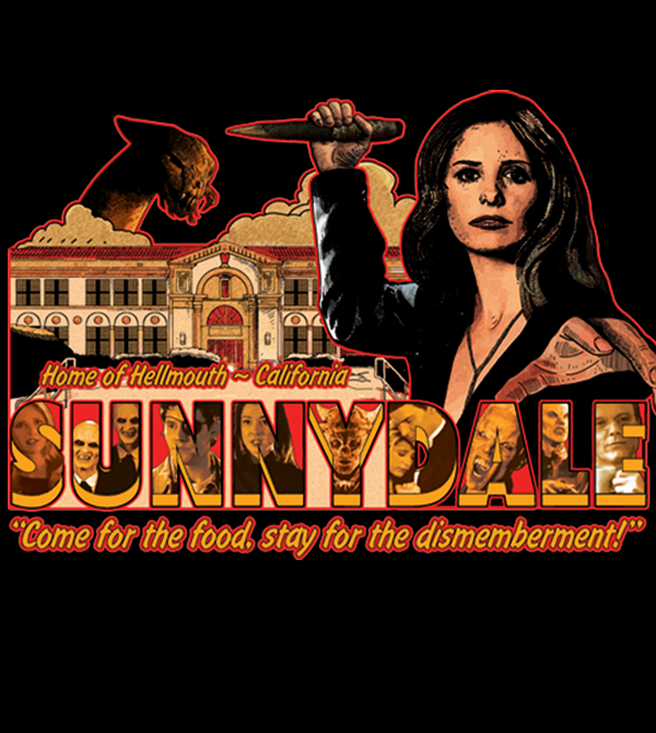 teeVillain: Visit Sunnydale