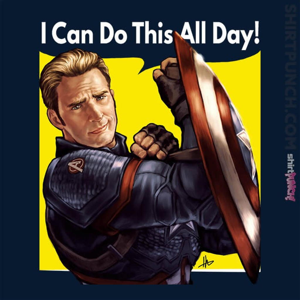 ShirtPunch: Cap Can Do It