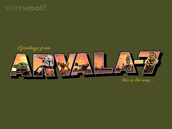 Woot!: Greetings from Arvala-7