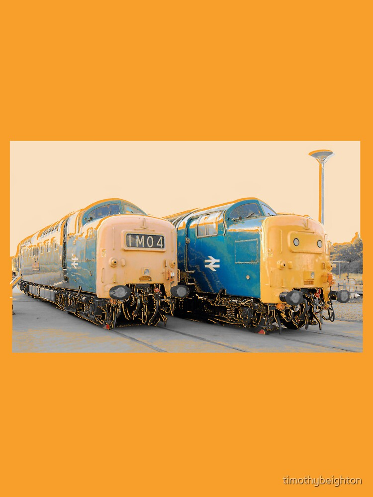 RedBubble: British Rail Deltic.