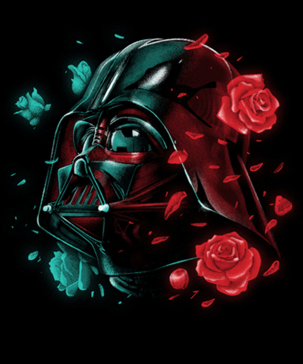 Qwertee: Dark Side of the Bloom