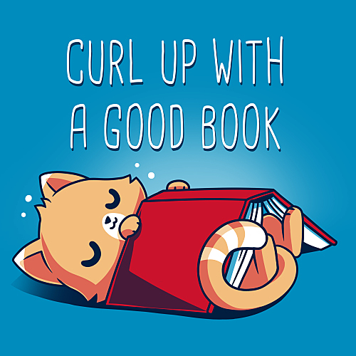 TeeTurtle: Curl Up With A Good Book