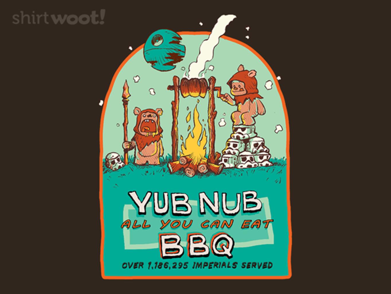 Woot!: YUB NUB BBQ - $15.00 + Free shipping