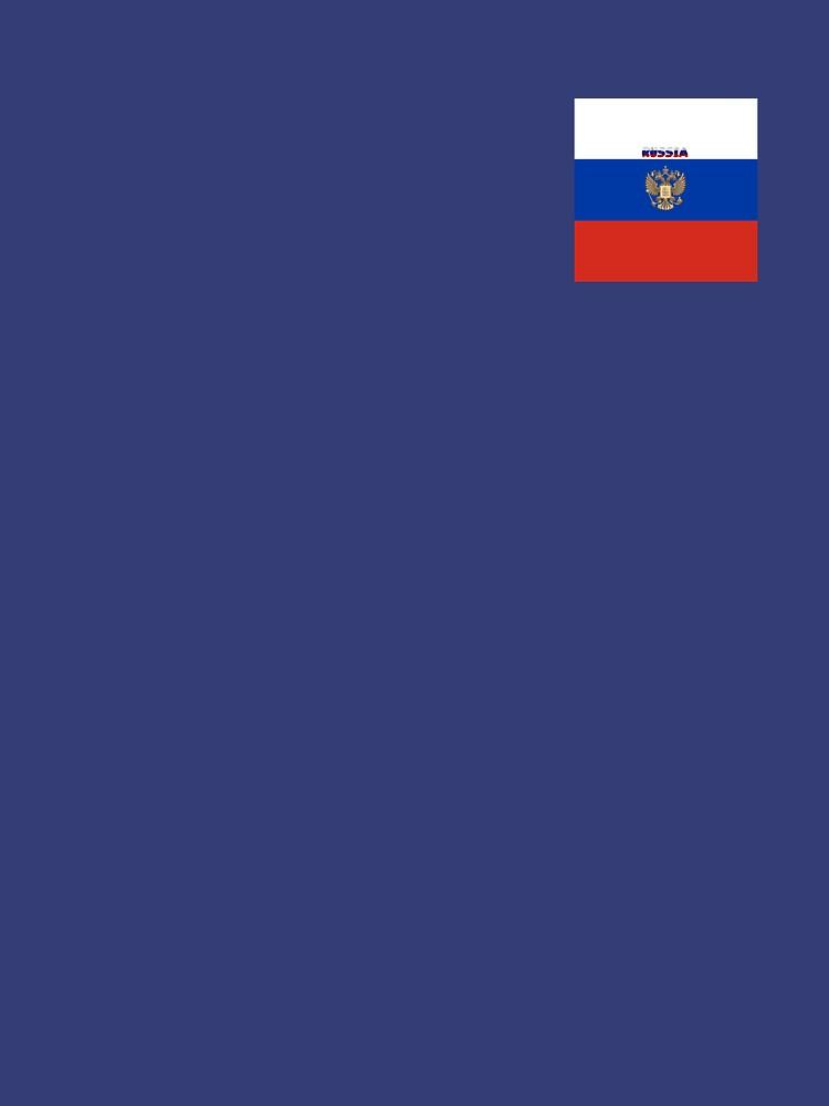 RedBubble: Russian square flag