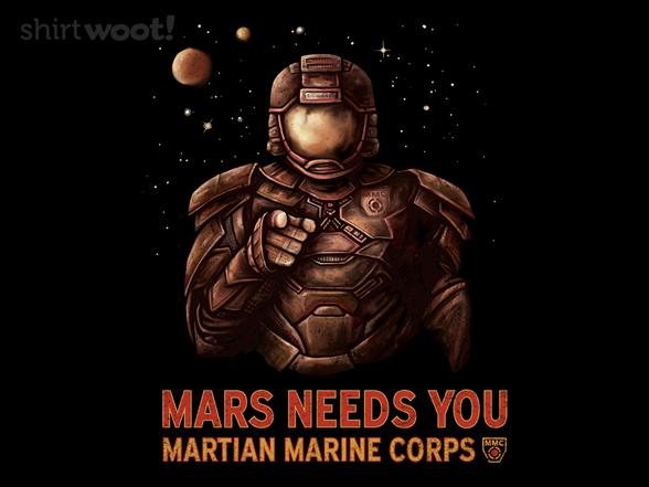 Woot!: Mars Needs You