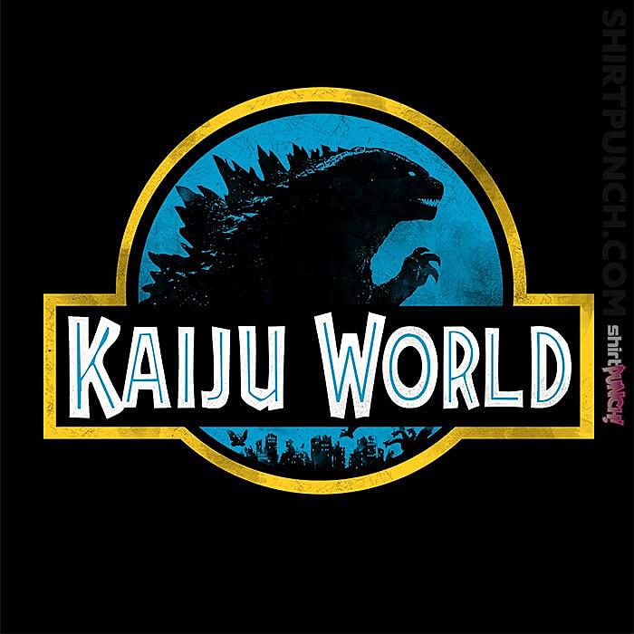 ShirtPunch: Kaiju World