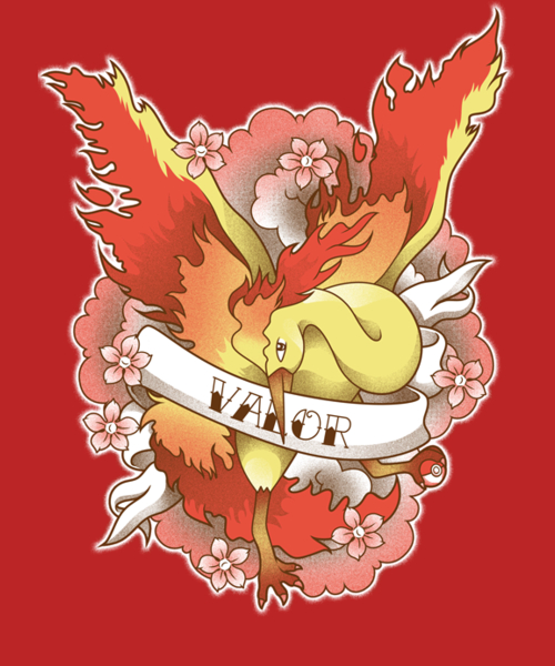 Qwertee: Team of Fire